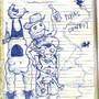 Stfu-man schoolwork by b0em
