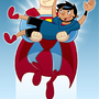 Superman and I by Torogoz