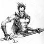 "Psycho Elf named ""Val"" by Zappan"