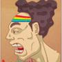 Rainbow dude by AbominableGod
