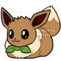 Sticker: eevee pancito