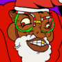 Santa Dogg and Tyrone
