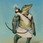Croc archer