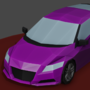 Low-Poly Honda