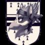 Heraldry: Shield,stripes,ermine
