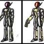 powered armor concept V2 by Zanroth