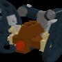 Lego Hailfire Droid by shadowfan246