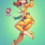 Super Sentai Daisy (Mario)