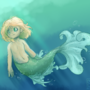 Mermaid Girl [From my previous Dream post]