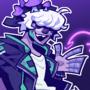 COMMISSION: Undead Druid Robot Musician Furry Man