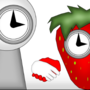 Madness Clock X Strawberry Clock