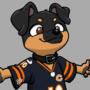 Football Doggo (commission)