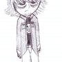 Self Portrait Sketch by CapnChaos