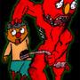 Zombie Elmo by crazygrego