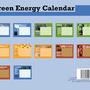 modular calendar