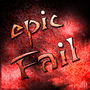 Epic Fail Logo by Drakee