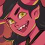 fiery demon girl
