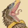 Raptor Tattoo Design