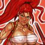 Keiko the Crimson Lotus OC Commission