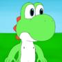 Yoshi! (Anthro Naked)