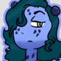 Blue poison dart frog Girl