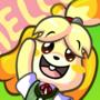 Isabelle Animal Crossing Fan art