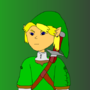 Toon Adult Link by marioVSshadow