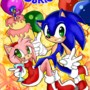 Happy Birthday Sonic by Pannikudashu