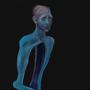 Split in Blue by ginemginem