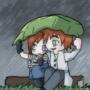 In The Rain by Walkingpalmtree
