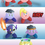The legend of Kirby by kevinsano