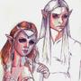 Olrun and Slagfidr by Thulcandra