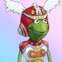 Gitaroo Kermit - 21st Century Frog