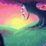purple lands