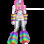 rainbow furry