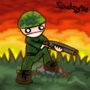 Shotgun Dude by Spudzy