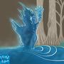 Water spirit by Wivernryder