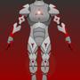 Iron-Man-ish armor by BarkBarkBOOM