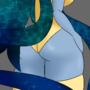 selene showing off her moon