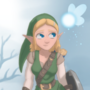 Zelda but shes Link