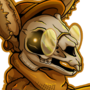 Punk Skulls: Rabbit and Deer