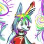 twitter sketch 2-16, balloon pup