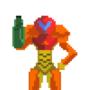 Pixel Art Samus