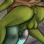 Midna gets Goblin buttfucked