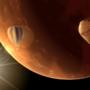 """""""Comet"""" Approaching Mars by zeedox"""