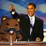 Obama's Special Guest by cartoonyfreak
