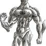 super hero scribble by Bind