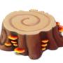 Tree stump prop
