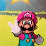 Mario 64 pixel art