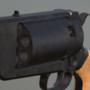 Sisterdale Texas Confederate Revolver